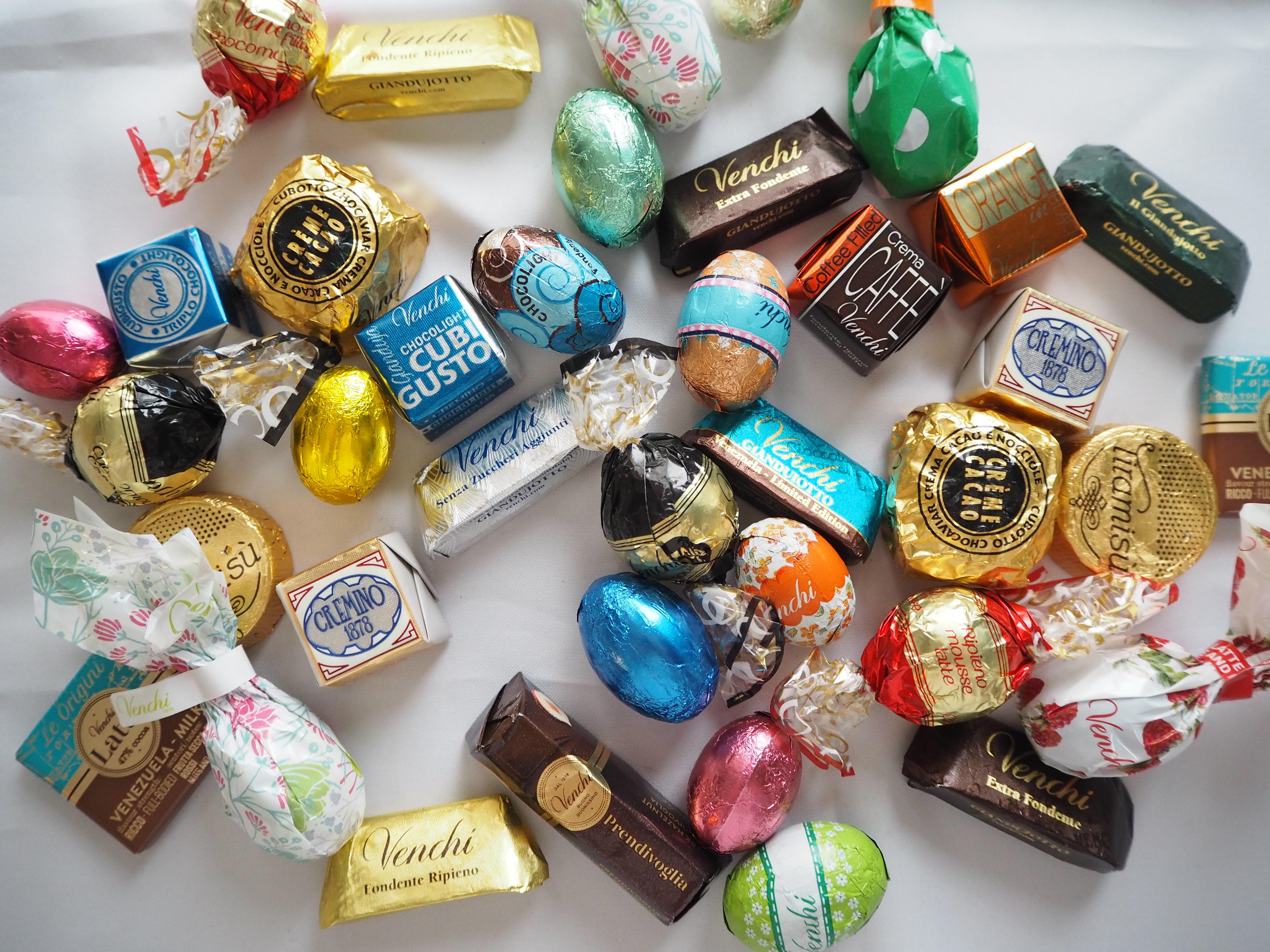 新婚旅行 イタリアへの旅 〜お土産のVenchiのチョコレート〜